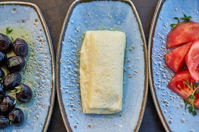 Cream Breakfast Milk Oil Olives